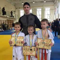 Тренер Гончаренко Ярослав Александрович - Днепр, Киокушинкай